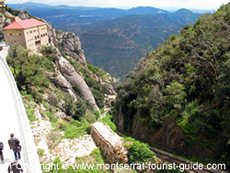 A view from Montserrat Monastery