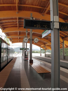 Monistrol Vila Train Platform